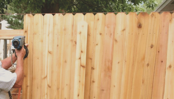 If your fence is damaged and needs mended, call us to come by and repair your fence. We will help to determine how to fix your fence and the best cost!