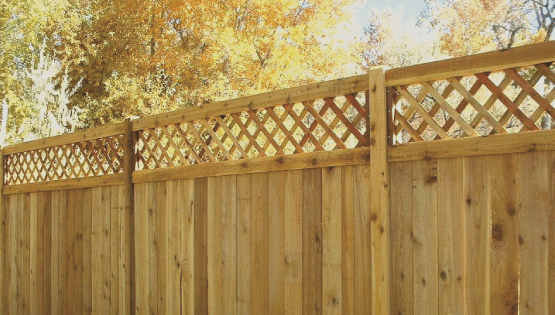 Wooden fences are affordable and look great at most residential properties. Wood is very customizable and comes in lots of different styles. You can paint or stain wood to fir your particular taste.